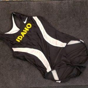 Vintage Idaho Nike running track singlet spandex